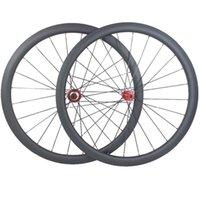 دراجة عجلات الكربون قرص الفرامل 700C 38 ملليمتر dwindeless cx32 cyclocross دراجة عجلة 1550 جرام الطريق 100 130