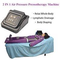2 em 1 Pronoterapia Prensaterapia Máquina de emagrecimento linfática infravermelha distante