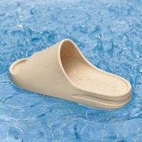Top quality platform slipper sandal shoes foam runner pure core resin enflame orange bone west men women luxury designer slides sandals