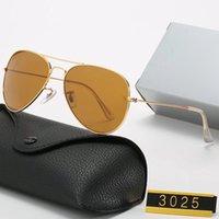 Commercio all'ingrosso di alta qualità Designer Sunglasses Ray Uomo Donna Vintage Pilot Brand Glass Occhiali Vetri Polarizzati Occhiali da sole Band UV400 Bans Ben Mens EyeGlasses con scatola e custodia