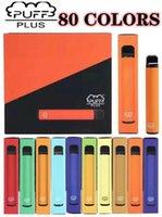 퍼프 플러스 일회용 담배 장치 550mAh 배터리 800 퍼프 3.2ml 포드 미리 채워진 vapes 포드 스틱 휴대용 증기 vape
