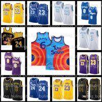 6 James 23 LeBron Jersey 3 Anthony Tune Squad Davis Película Los AngelesLakersKobe824Baloncesto Bryant Black Mamba
