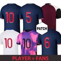 Fußball-Fußball-Trikots-Shorts Mbappe Maillots de 20 21 Icardi-Shirt Männer Kids Kimpembe 4. Gana Kean Marquinhos