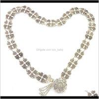 Estilo de moda Argent Cintura Restauración Antigua Caminos antiguos Tassel Metallic Charmelaine Body Jewelry Regalo SBPDI Cadenas Oct67