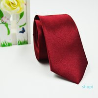 Solid Neck tie Casual Skinny men colorful 5cm*145cm Classic men handmade neck tie Skinny Wedding Party FFA060 1000pcs
