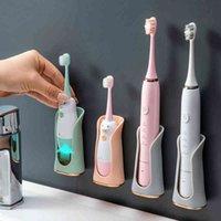 Aspirazione a parete Silicone Elettrico Supporto da denti da denti da spazzolino da denti Stand Stand Stand Back Accessori per il bagno