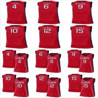 نساء كرة السلة الفانيلة 4 Jewell Loyd 6 Sue Bird 9 A'ja Wilson 10 Breanna Stewart 12 Diana Taurasi 15 Brittney Griner 2021 المنتخب الوطني الولايات المتحدة الأمريكية أولمبياد الصيف