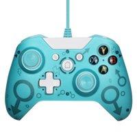 Controlador con cable para Xbox One Video Game Joystick Slim Gamepad Controle Joypad Windows PC Controladores Joysticks
