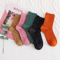 Calzini classici Lettera con scatola Candy Color Moda Sock Donne Caviglia Skateboard Calze Femminili Scorte in cotone all'aperto