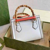 Bolsas de Senhoras Clássicas de Alta Qualidade Designer Diana Bambu Sacos High-end Marca de luxo ombro mensageiro sacos