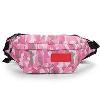 designer waist bags print letter sport men and women travel bag fanny pack belt chest pocket crossbody running phone purse outdoor packs canvas wholesales
