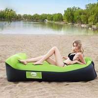 Outdoor Leisure Lazy Fast Inflatable Sofa Bed Lightweight Portable Folding Single Air Travel Camping Beach Park Home Use Pads