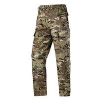 Vendita Top Quality Desert CP Multicam Black Color Twill Aisoft Military Uniform Tactical Typon Camo Hunting Au Le BDU Style Pantaloni da uomo in stile