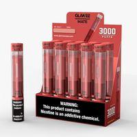 Original GLame Companheiro Dispositivo de Vagem descartável E-Cigarros Vape Pen 3000 Puffs 9ml 1800mAh 3000Puffs 5% vs Pro Nova
