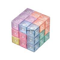 Marca Dragon Color Bloques de construcción magnética Magic magnético 3D Puzzle Cubesinteligencia Desarrollo y alivio de estrés Fidget Juguetes