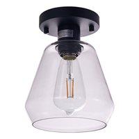 الزجاج مصابيح السقف مصابيح أضواء الحديثة لغرفة المعيشة نوم ممر شرفة السقف مصباح 20 سنتيمتر عميق و 22.5 سنتيمتر المطبخ الإضاءة الصناعية