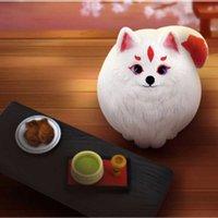 Kar Tilki Anime Kör Kutusu Yağ Dodo Kitten Oyuncaklar Kızlar için Pucky Bebekler Tahsil Figürinler Sürpriz Kutular Kimetsu Yok Yaiba