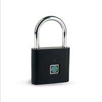 Métal Smart Cabinet Lock Verrouillage Cadentrage domestique Cadre de sécurité Casier USB Rechargeable Safty Fingerprint serrures