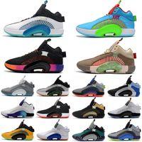Hombre 35s Jumpman Shoes de baloncesto 35 entrenadores Zapatillas de deporte de tenis 34 34s 33 33 3 33s negro blanco rojo gris rosa xxxv deportes