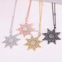 Pendentif Colliers 10 Strands Zyunz Mode Micro Pavé CZ Stone Star Mix Color Party Bijoux pour femmes