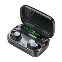 M5 Wireless Bluetooth Headphones TWS HiFi 9D Bass Stereo Earbuds LED Power Display Touch Control 2000mAh Powerbank In-Ear Headset With Mic
