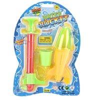 Rocket Launcher Открытый Пляж Игрушка Jump Jet Launcher Вода Ракета Ракета Детей Интеллектуальная Стема Физика Эксперименты Подарки