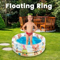 Pool & Accessories Small Inflatable Swimming Portable Floating Ring Water Fun Toy For Babies Outdoor Lawn Baby Shower Removable