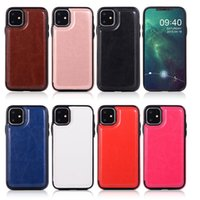 Luxury PU Leather Phone Case for iPhone 12 11 Pro Max mini X XS 7 8 PLUS Samsung S20 Wallet Case Cover Kickstand with Card Slots