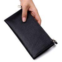 Fabrication directe d'usine HBP de portefeuille en cuir NOUVEAU coréen Casual dames portefeuille ultra-mince Lychee portefeuille femme une génération