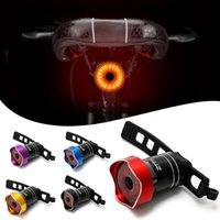 Fiets Achterlicht USB Oplaadbare Fiets Achterlicht Auto Start / Stop Rem Sensing IP65 Waterdicht voor fietsen Veiligheidslichten