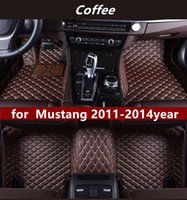 Suitable for Ford Mustang 2011-2014year customized non-slip non-toxic floor mat car
