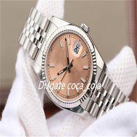 Роскошные фабрики продажи роскоши часы 36 мм свидание DateJust алмазный набор 126233 116244 126203 116234 ETA 3135 Движение автоматические мужские часы часов D16
