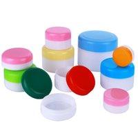 10g Botellas recargables de plástico de plástico de maquillaje vacío de la muestra de la olla de viaje Crema de cara / loción / contenedor cosmético