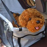 Oxford impermeable perro mascota portador portador caja fuerte plegable gato bolsa de cachorro perro perro asiento asiento bandas mascotas productos mascotas 392 R2