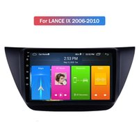 2 Din 9 Inch Car Dvd Player With Gps Navigation Rearview Camera Input for mitsubishi LANCE IX 2006-2010