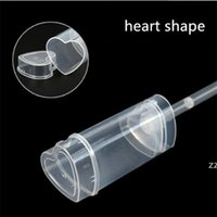 Heart Shape Food Grade Push Up Cake Containers Ice Cream Cupcake tools Wedding Birthday Party Decorations Cake Container Lid HWB10415
