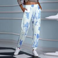 Women's Pants & Capris Tie Dye Sweatpants Women Hip Hop Elastic High Waist Baggy Loose Harem Pant Streetwear Fashion Trousers Jogging Z0827