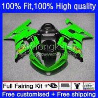 Injection Mold Bodywork For SUZUKI GSXR 1000CC 1000 CC K2 00 01 02 Body Light green 24No.102 GSXR1000 GSX-R1000 2000 2001 2002 GSXR-1000 2000-2002 100% Fit OEM Fairing