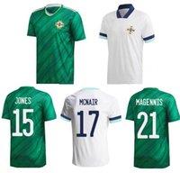 2021 Irlanda do Norte Jersey Jersey Lafferty Home Away Adulto Davis Magennis Evans McNair Boyce Football Shirt