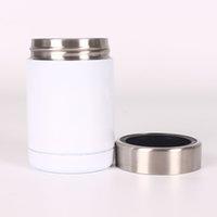 DIY Сублимационные бутылки с водой 12 унций автомобиля кофе кружка пивного холодильного хранения бак 304 из нержавеющей стали вакуумная изолированная чашка