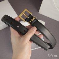 حزام للنساء جلد طبيعي 3 سنتيمتر عرض جودة عالية الرجال مصمم أحزمة s مشبك cnosme إمرأة حزام cintura ceintures D2108261L