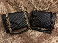 جودة عالية رفرف حقيبة مصمم الفاخرة حقائب الغروب الأصلي جلد المرأة حقائب الكتف الأزياء المتوسطة حقيبة crossbody