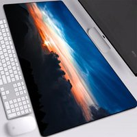 Mouse Pads & Wrist Rests Sunset Printed Pad Large Size 30*60 30*70 30*80 Custom HD Wallpaper Mats Personality For Gamer Gaming Mice In Stock