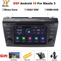 """Jugador 7 """"PX6 DSP Hexa Core Android 10 Autoradio Car DVD STEREO PARA 3 2004-2009 Bluetooth GPS Navegación SD RDS BT"""