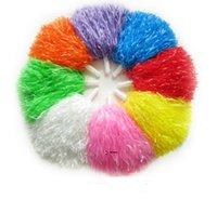 POM Poms Horleading Cheer Cheerleadings Saceates Square Dance Props Цвет может выбрать Цветочный танцевальный танцевальный