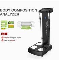 Multi Função Índice de Massa Analisador de Gordura Corporal Analisador de Saúde Composto Medição de Peso com Impressora A4