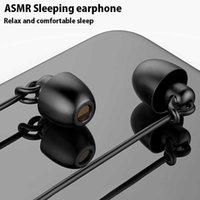ASMRイヤホンHIFIヘッドセットノイズ - キャンセル睡眠イヤホンソフトシリコーンTPEワイヤーノーイヤープレッシャーイヤーバッド