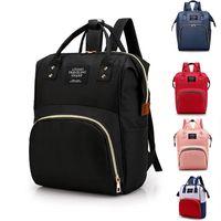 Fashion Mummy Maternity Nappy Bag Brand Large Capacity Baby Travel Backpack Designer Nursing for Care 210907