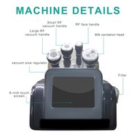 80K Cavitation Vacuum Fat Removal Slimming Machine Weight Loss Ultrasonic Radio Frequency Therapy Body Shaping Equipment