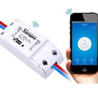 Smart Home Control Wifi Wireless Power Switch, Fernbedienung, Automatisierungsrelaismodul, gemeinsame Modifikation DIY-Teile für Licht